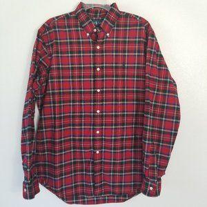Ralph Lauren Classic Fit Flannel Button down Shirt